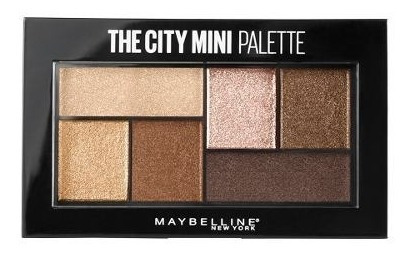 sombras the city mini palette maybelline