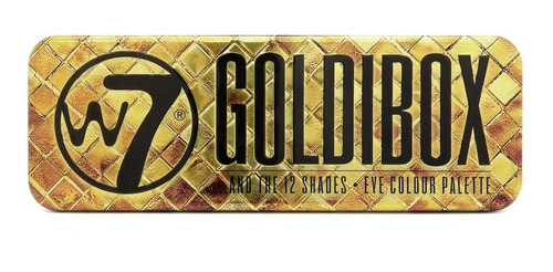 sombras w7 goldibox