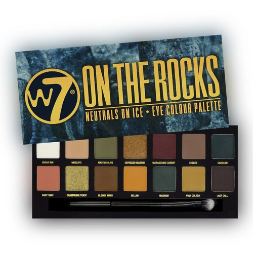 sombras w7 on the rocks