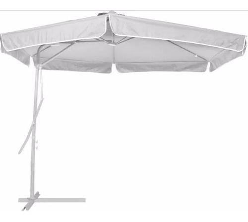 sombreiro guarda sol ombrellone com alavanca 3 metros