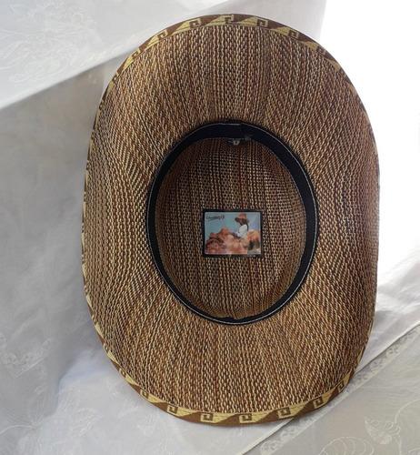 sombrero ala ancha en lona para hombre