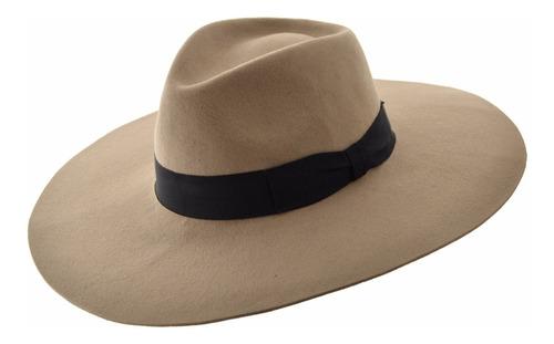 sombrero ala ancha fieltro compañia de sombreros m61401126