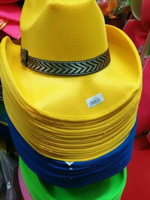 sombrero amarillo gorros de cotillón fiestas disfraces. Cargando zoom. 2377aca7633