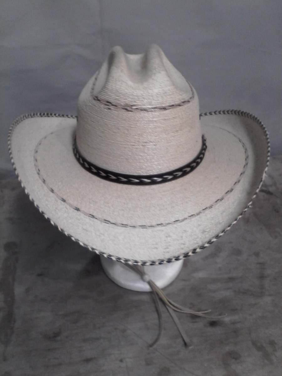 sombrero americano palma pinto con barbiquejo envío gratis. Cargando zoom. 472b94ab5e6