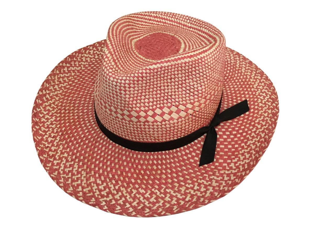 sombrero americano tipo panamá de jipi bicolor ala ancha. Cargando zoom. 67e61bd91cc