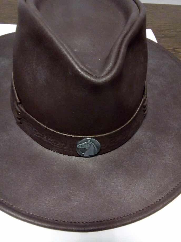 sombrero australiano cuero engrasado de gaucho. Cargando zoom. e9604ea06ba
