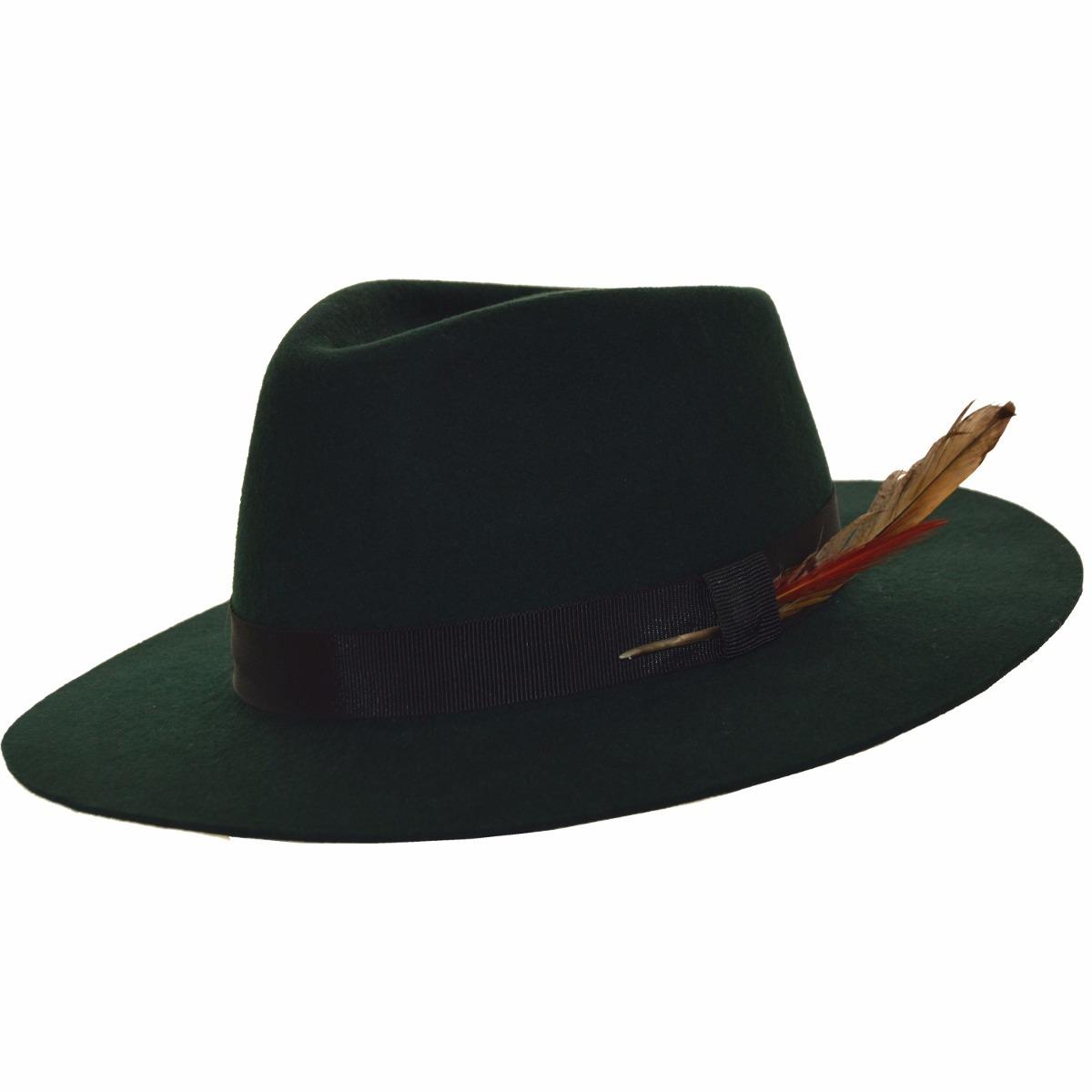 7893815269a1b Sombrero Australiano Fieltro Compañia De Sombreros M61408804 ...