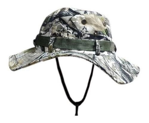 sombrero australiano gorra pesca caza tacticotrekking outdor
