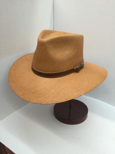 sombrero australiano liso panama bigalli