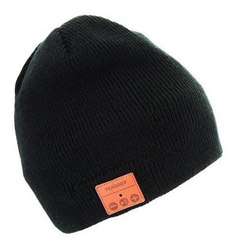 sombrero beanie tenergy wireless bluetooth con altavoces est