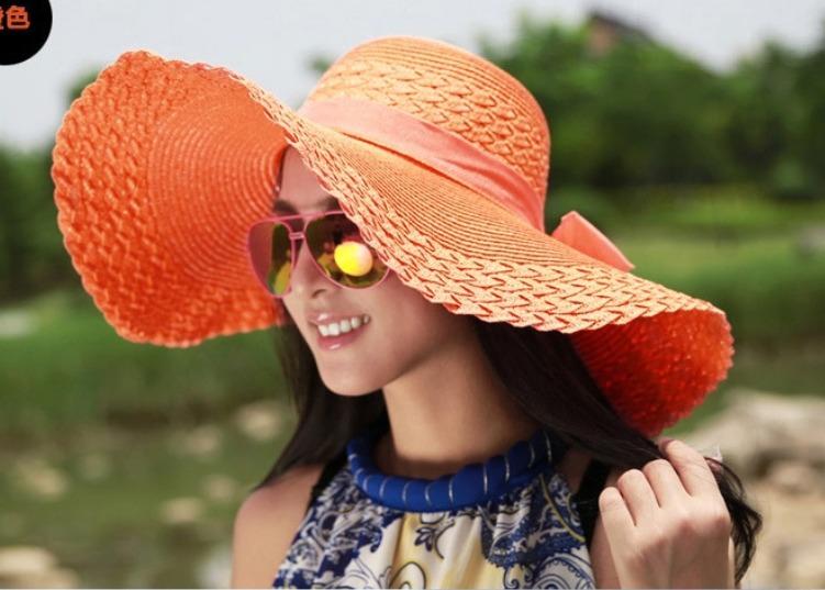 e9058782 Sombrero Beige De Playa Para Mujer Con Fps 25+ - $ 229.00 en Mercado ...