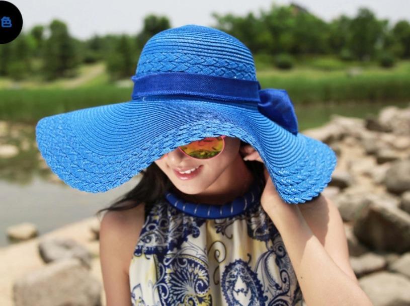 Sombrero Beige De Playa Para Mujer Con Fps 25+ -   229.00 en Mercado ... 66c514ab857b
