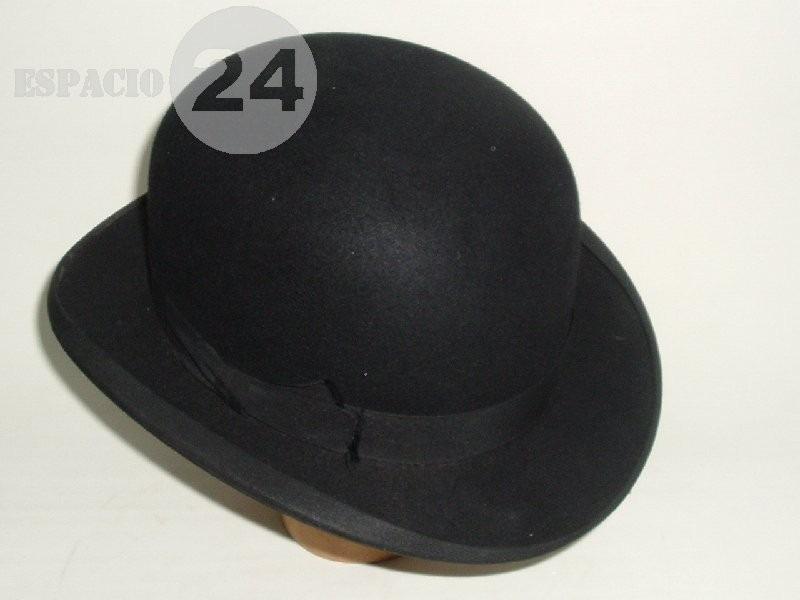8a131cca43e36 sombrero bombín borsalino paño de nutria color negro años 20. Cargando zoom.