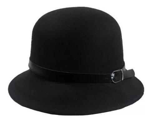 sombrero bombín de fieltro ec 049
