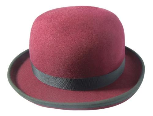 sombrero bombin fieltro de lana -07 la sombra del arrabal