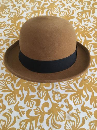 sombrero bombin fieltro garnet