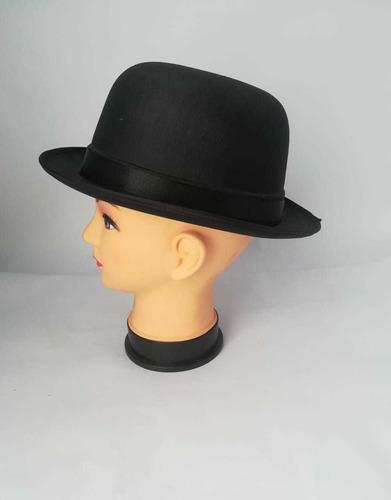 sombrero bombin o charles chaplin en poliester