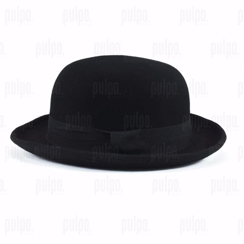sombrero bombín unisex de fieltro lana 100% bowler hat. Cargando zoom. 00bd143ebd9