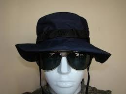 sombrero boonie de jungla operativo negro