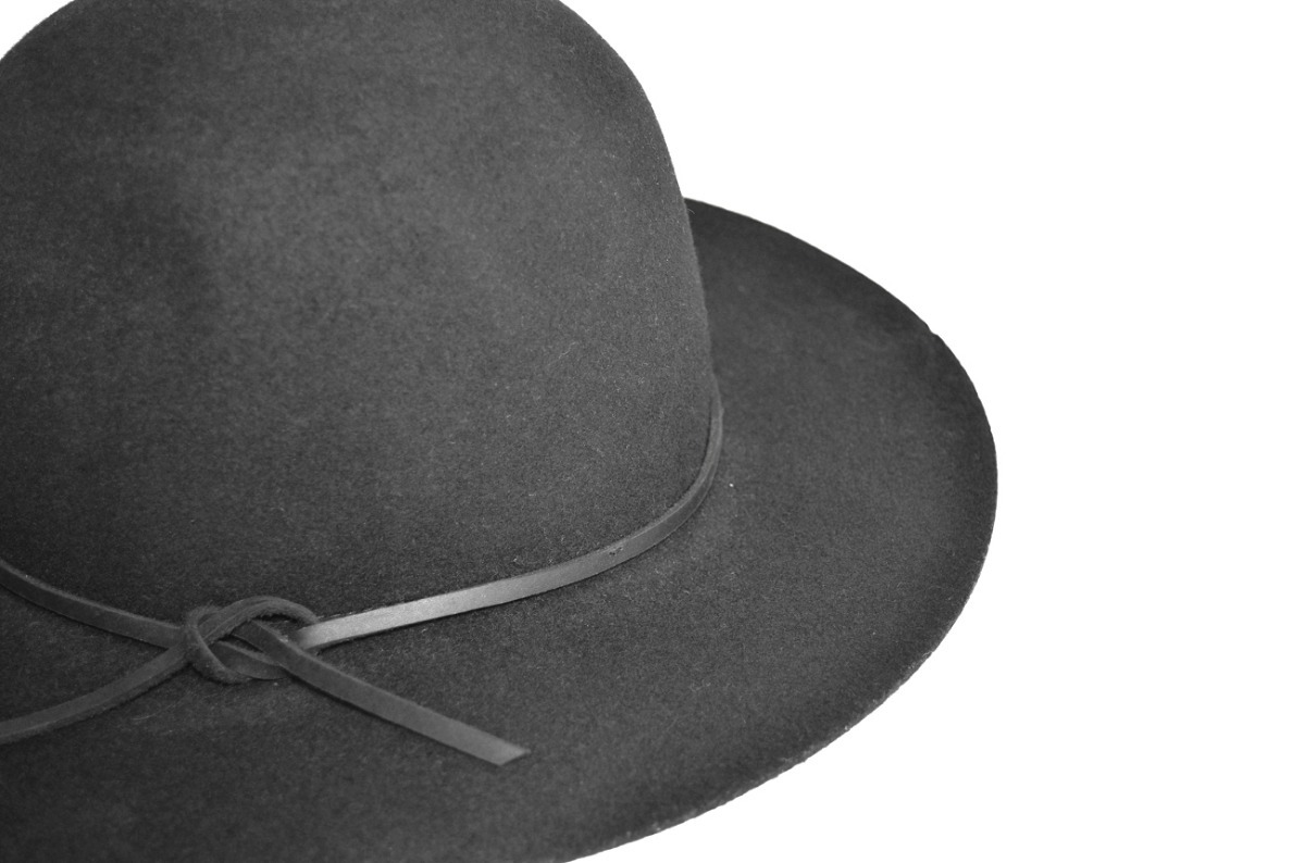 3fe9a6bab2dbc sombrero brixton negro paño fieltro pana gorro. Cargando zoom.