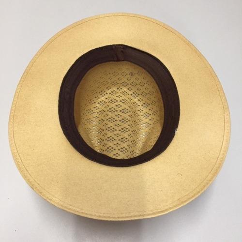 sombrero café claro jaguar clásico ¡envío gratis!