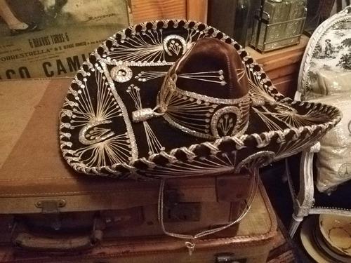 Sombrero Campana O Clôche Antiguo Real Típico Años 20 -   990 4cc308288f0