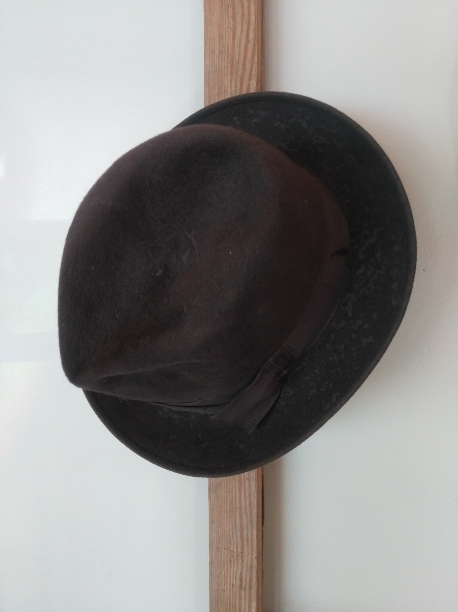 nuevo estilo y lujo moda más deseable precio razonable Sombrero Campana O Clôche Antiguo Real Típico Años 20 - $ 980,00