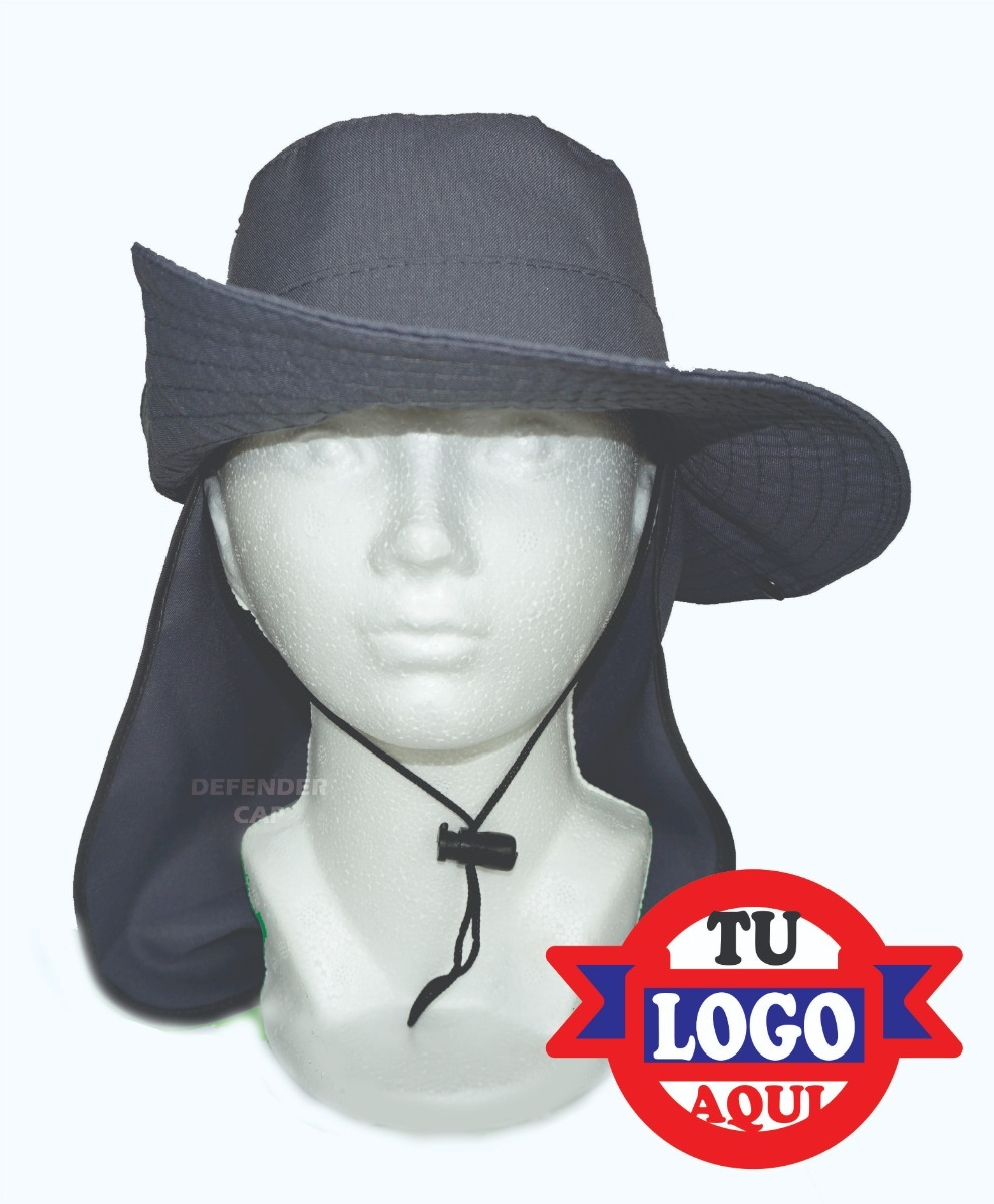 Sombrero Campismo Cazador Pescador Cubre Cuello (facturamos ... 25f554b5dfd