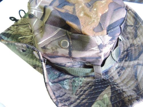 sombrero camuflado gorro sol pesca caza kayak verano oferta