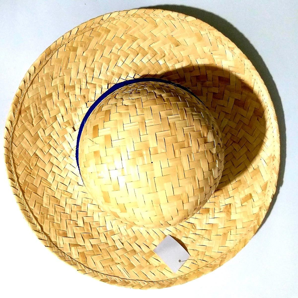 sombrero capelina infantil o adulto de paja campesino 34 cm. Cargando zoom. e7616519505