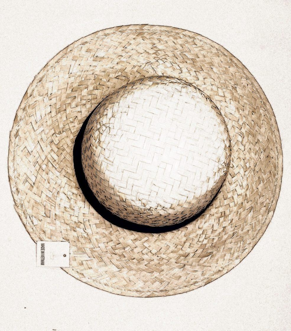 Sombrero Capelina Infantil O Adulto De Paja Campesino 34 Cm - $ 279 ...
