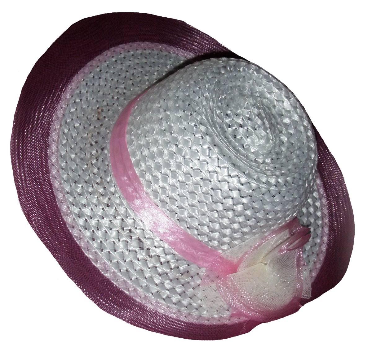 70a5dd4c50419 sombrero capelina niña hasta 12 años fiesta bautismo playa. Cargando zoom.