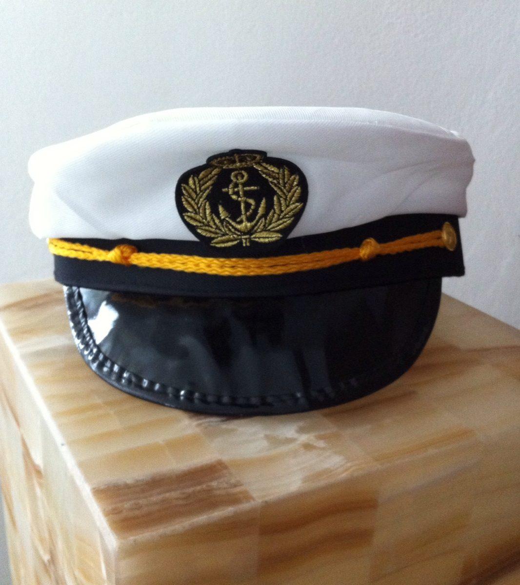 Sombrero Capitán Marinero -   68.00 en Mercado Libre 6395b7e1606