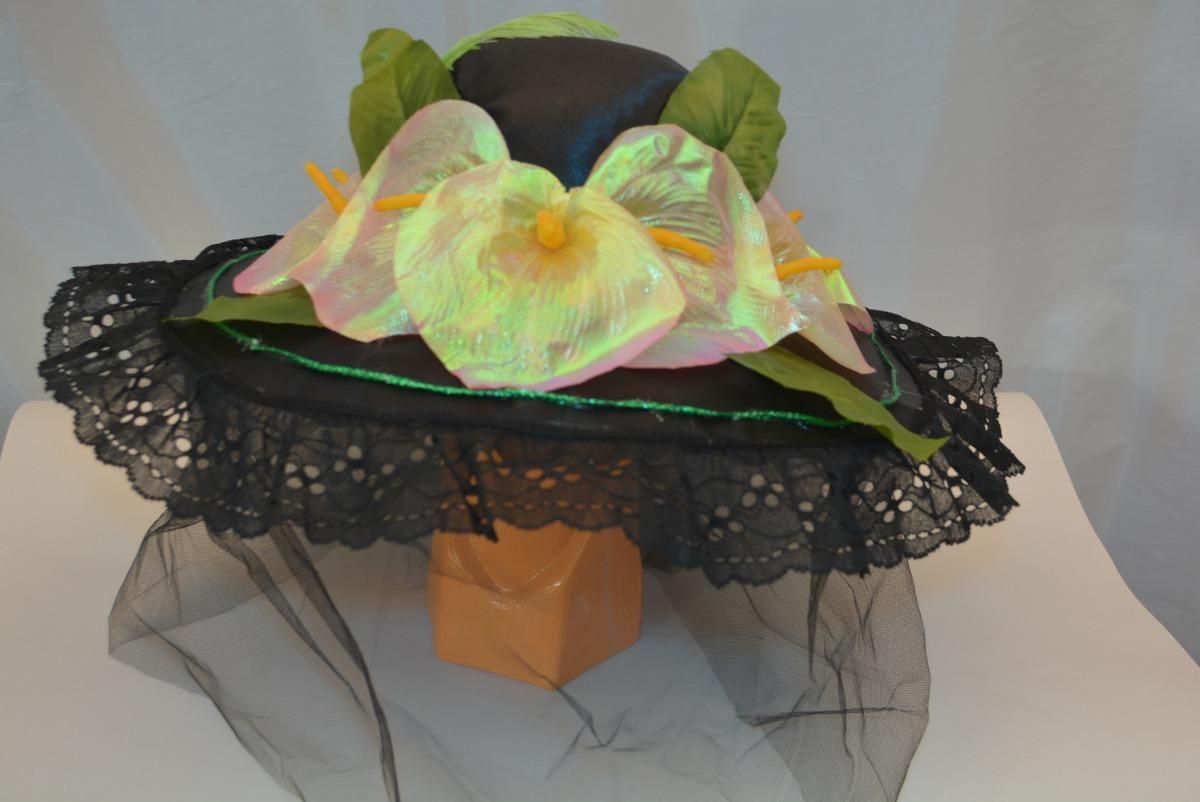 sombrero catrina adult día muertos disfraz alcatraz hallowen. Cargando zoom. 8dc2757aa20