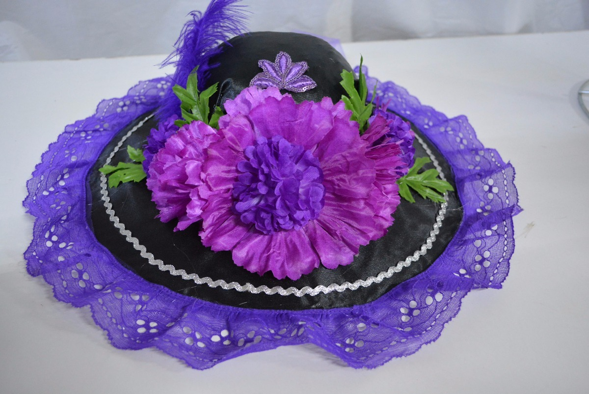 Sombrero Catrina Adult D a Muertos