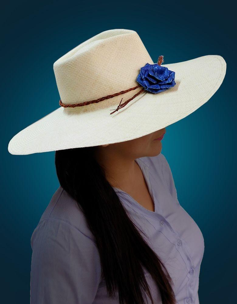Sombrero Chalan De Paja Toquilla De Piura  b92542d5127