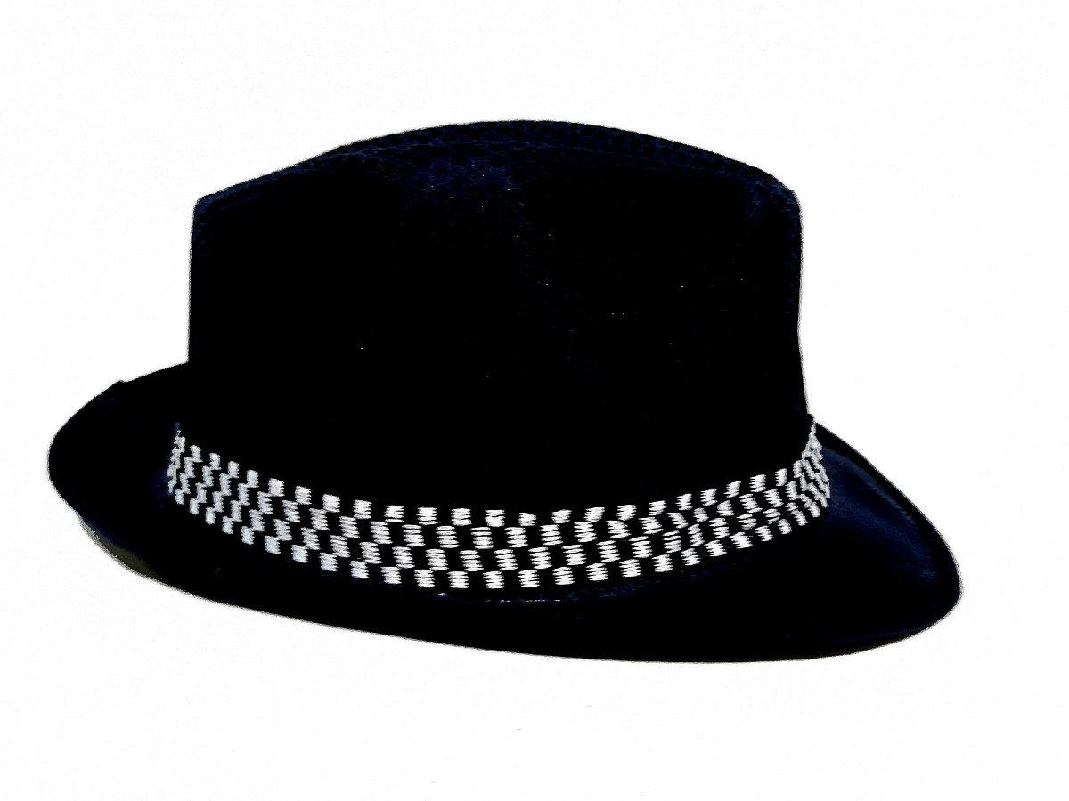 bc5c913159c5b sombrero chambergo tela sintetica hombre mujer niños negro. Cargando zoom.