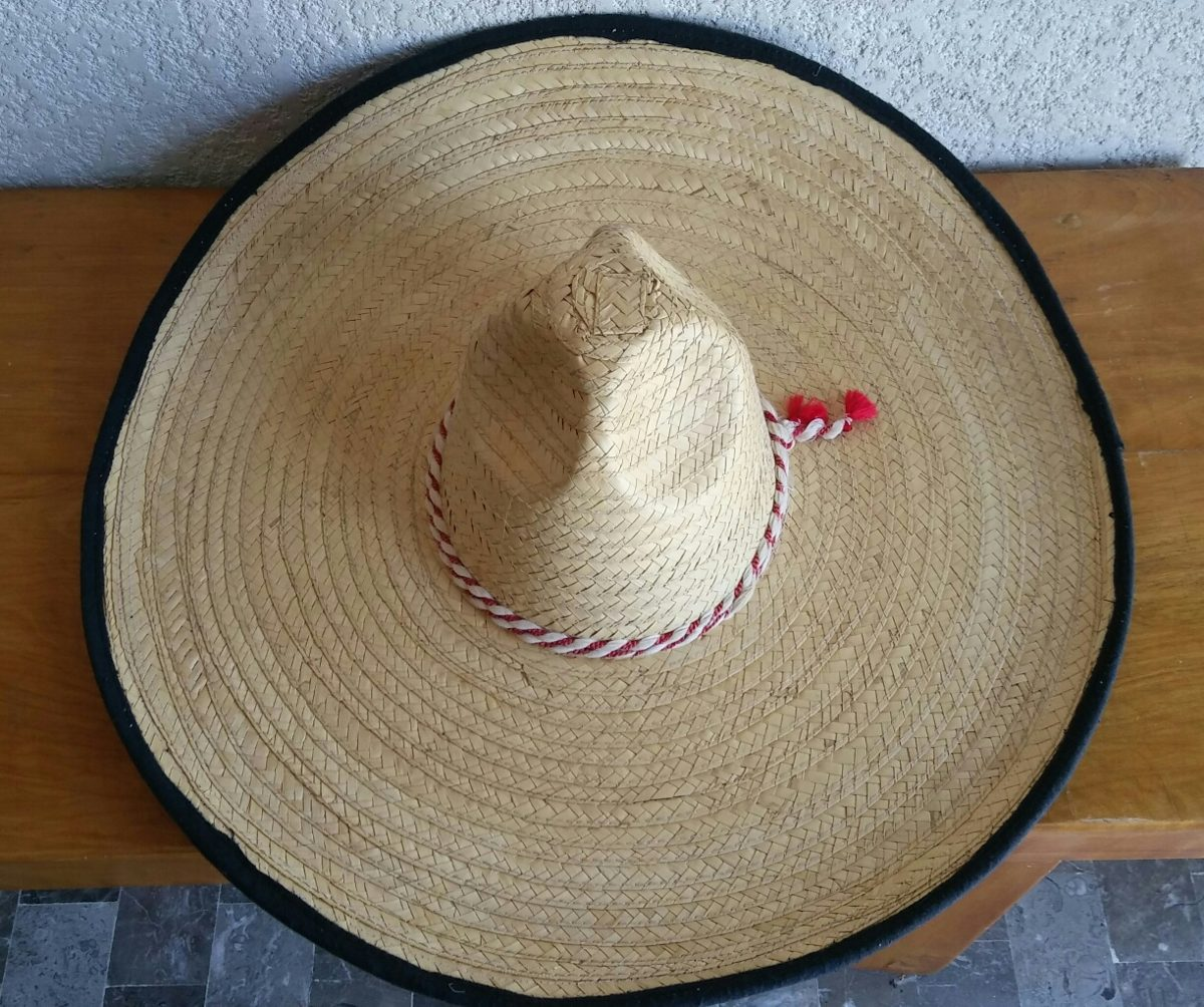 f55abce7281b1 sombrero charro caporal paja ribeteado mexi toquilla algodón. Cargando zoom.