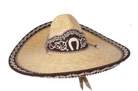 Sombrero Charro Escaramuza Trigo Fino Mexicano Mariachi