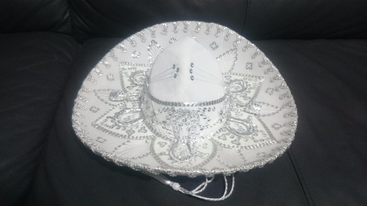 Sombrero Charro Mariachi Mexicano Adulto Negro Colores -   449.00 en ... 2cab4581e3a7
