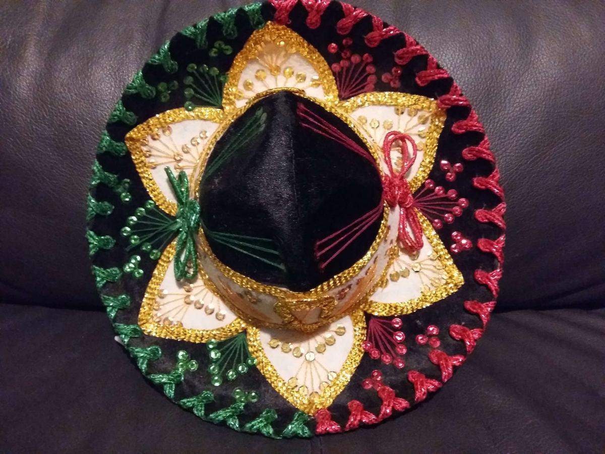 78db8256af979 Sombrero Charro Tricolor Niño Bebe Fino Color Mariachi -   399.00 en ...