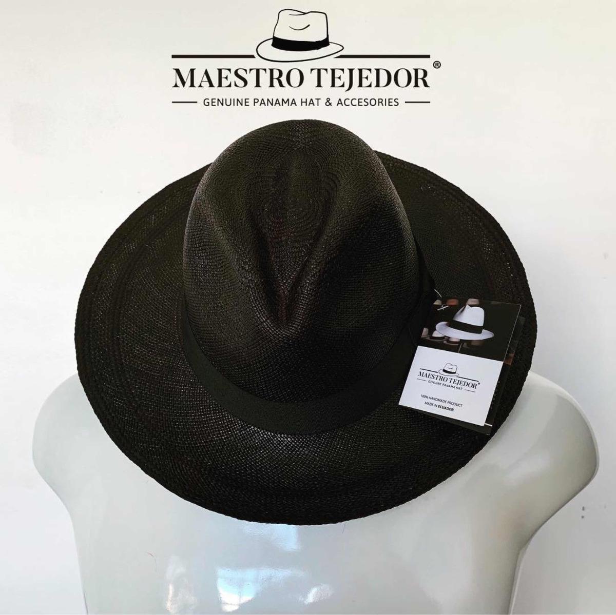 c4c92c9eaeac1 sombrero clásico negro maestro tejedor. Cargando zoom.
