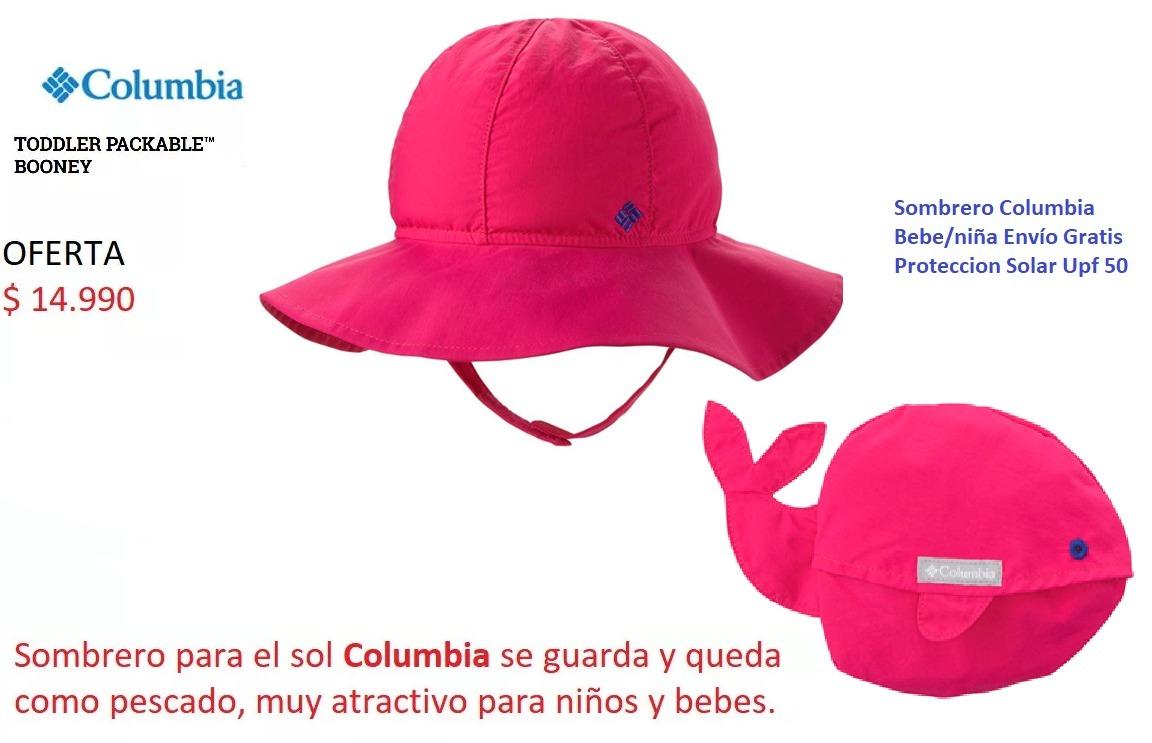 Sombrero Columbia Bebe/niño/niña Envío Gratis Solar Upf 50 ...