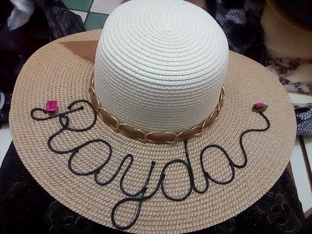Sombrero Con Nombre (personalizado) - S  30 ffe3853d9c9