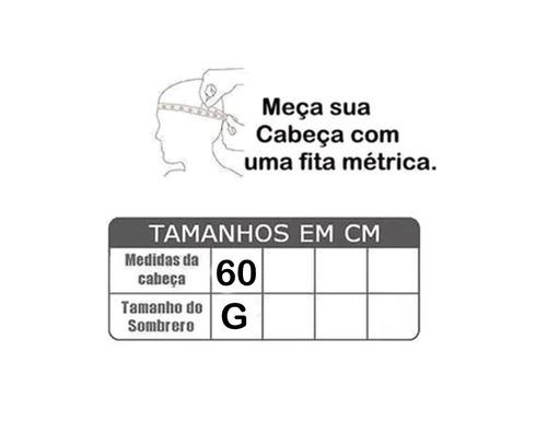 Sombrero Cordobês Chapéu Flamenco Preto G Semi-profissional - R  149 ... ff1c398cba3