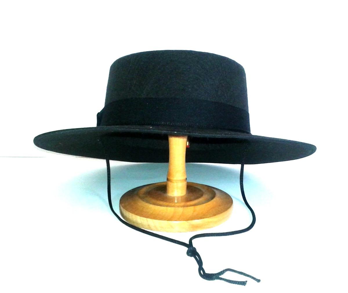 sombrero cordobês chapéu flamenco preto p semi-profissional. Carregando  zoom. 177f6562cc8