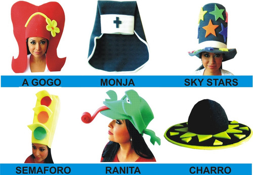 sombrero cotillon sombreros