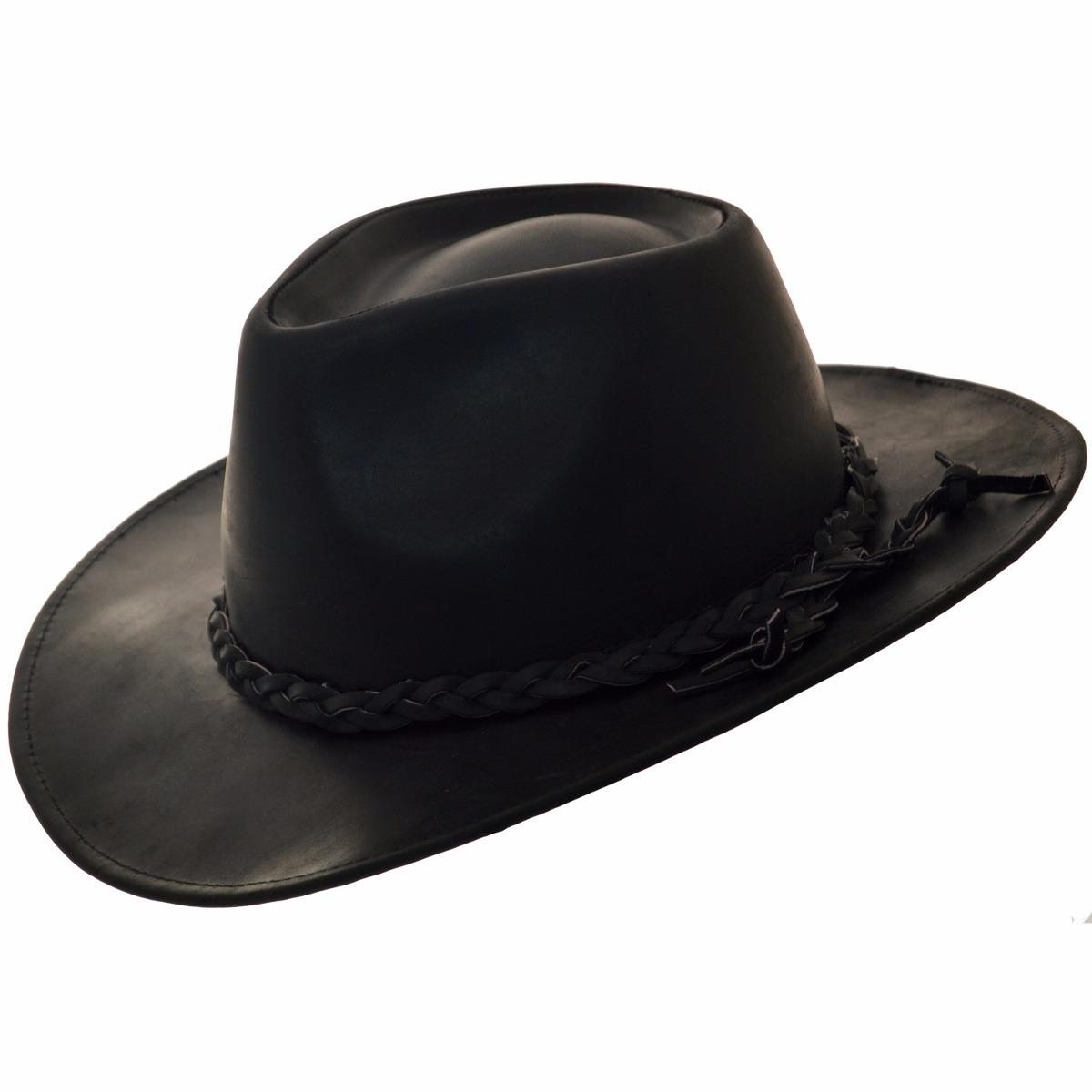 sombrero cuero engrasado compañia de sombreros h714290-02. Cargando zoom. 939fd3650bf