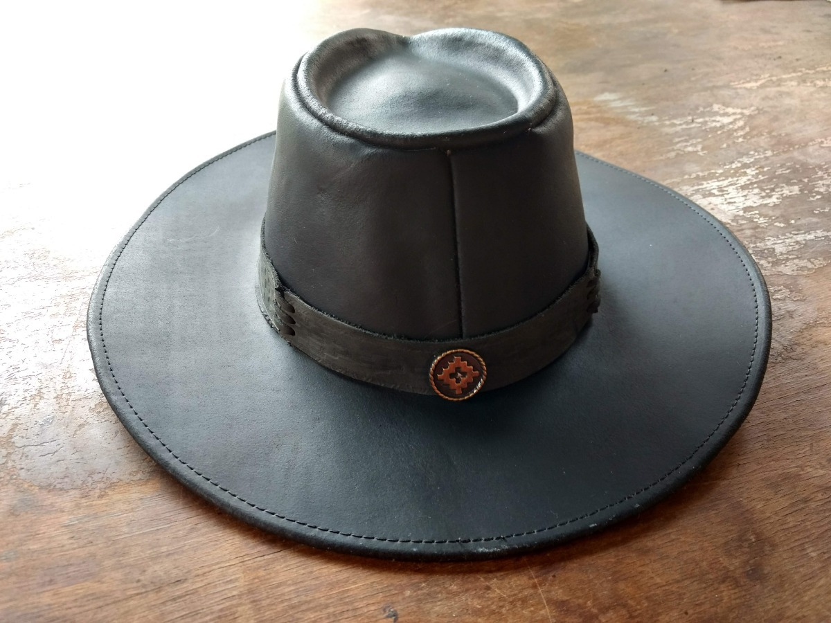 sombrero cuero engrasado primera calidad - xl xxl. Cargando zoom. 5b9b5782a43