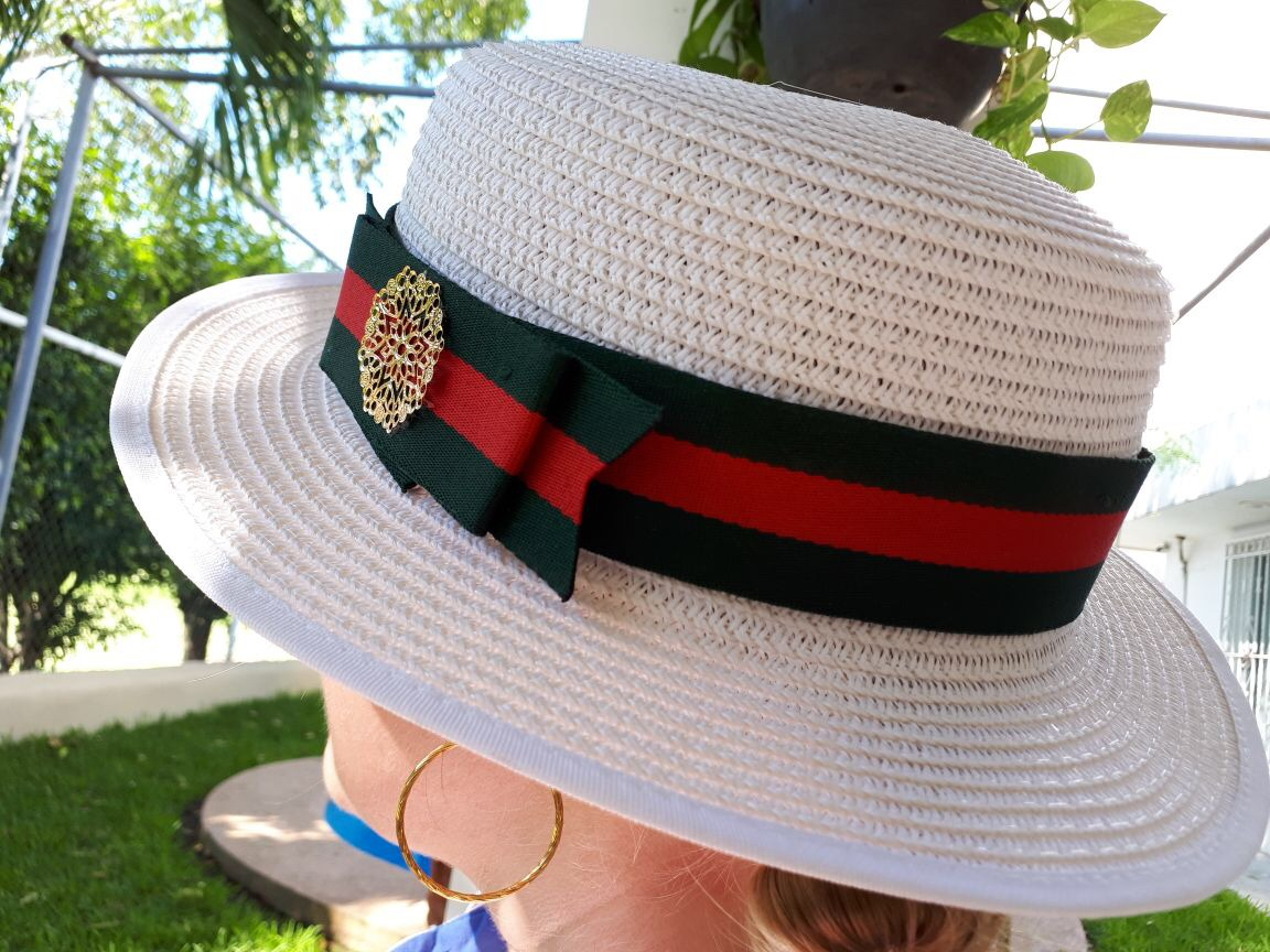Sombrero Dama. Moda. Sombrero Playero. Sombrero Panameño -   450.00 ... 2e2fd8425af